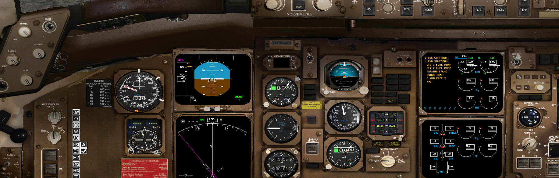 QualityWings Simulations | 757 2D Panel