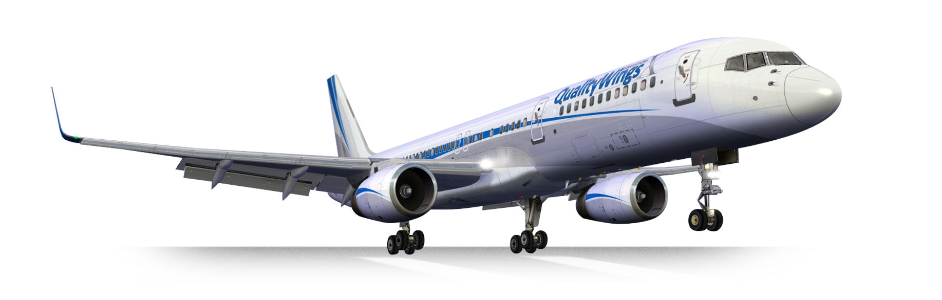 QualityWings Simulations | The Ultimate 757 Collection