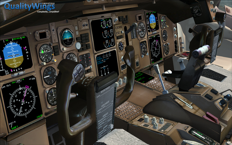 Qualitywings Simulations 757 Virtual Cockpit